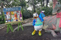 Donald' Dino-bash Party And Meet Greets Debut