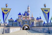 Walls Removed Sleeping Beauty Castle Disneyland