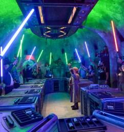 savi s workshop custom handbuilt lightsaber experience review at star wars galaxy s edge [ 2000 x 1125 Pixel ]