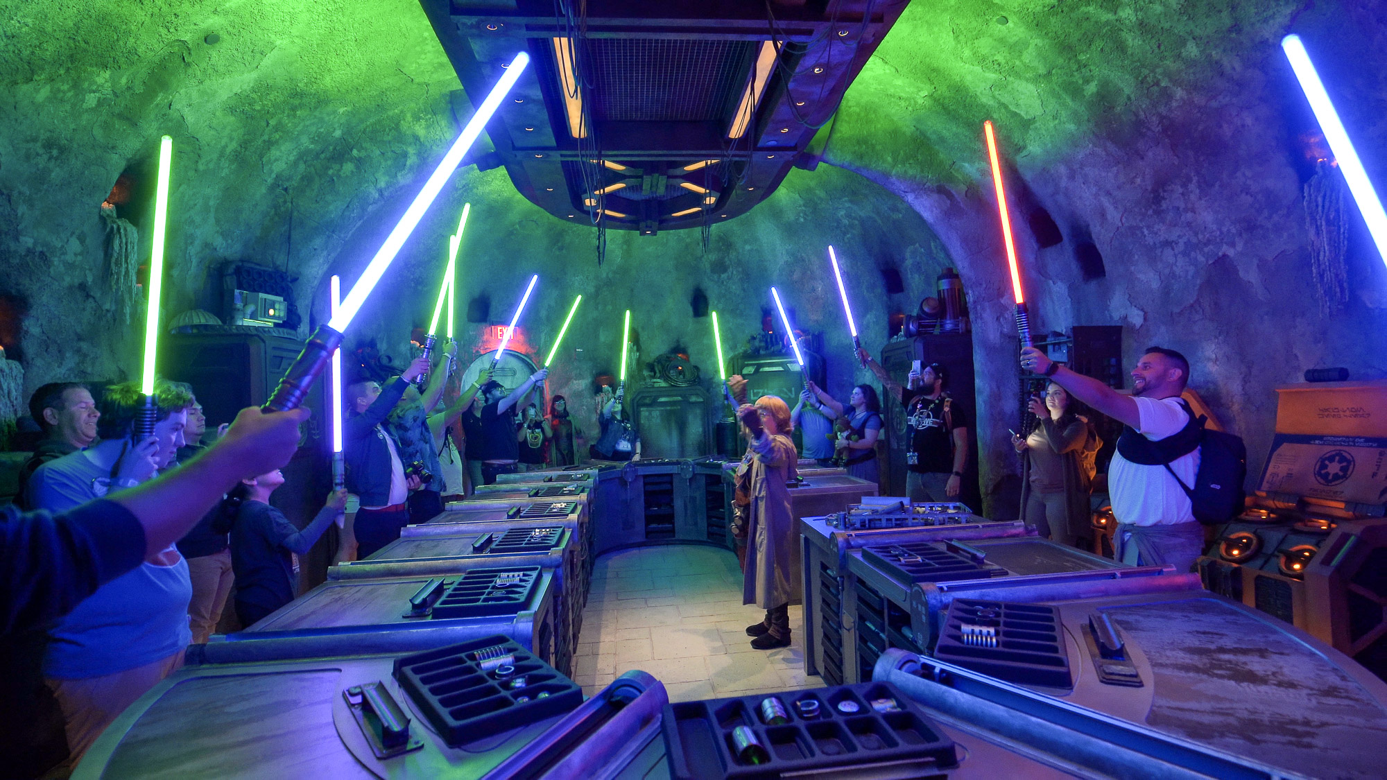 hight resolution of savi s workshop custom handbuilt lightsaber experience review at star wars galaxy s edge