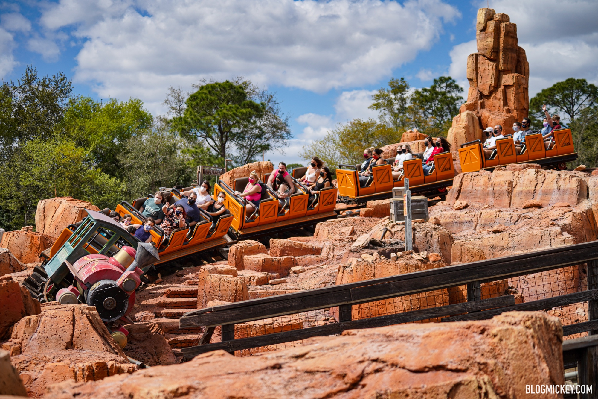 There a it is impossible to give an exact figure regarding the number of mountains in the wo. Big Thunder Mountain Railroad Closing In June For Refurbishment