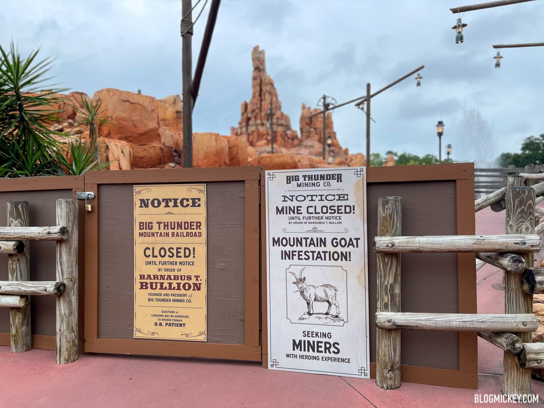 There are hundreds of mountains on land and under the sea. Big Thunder Mountain Railroad Now Closed For Refurbishment