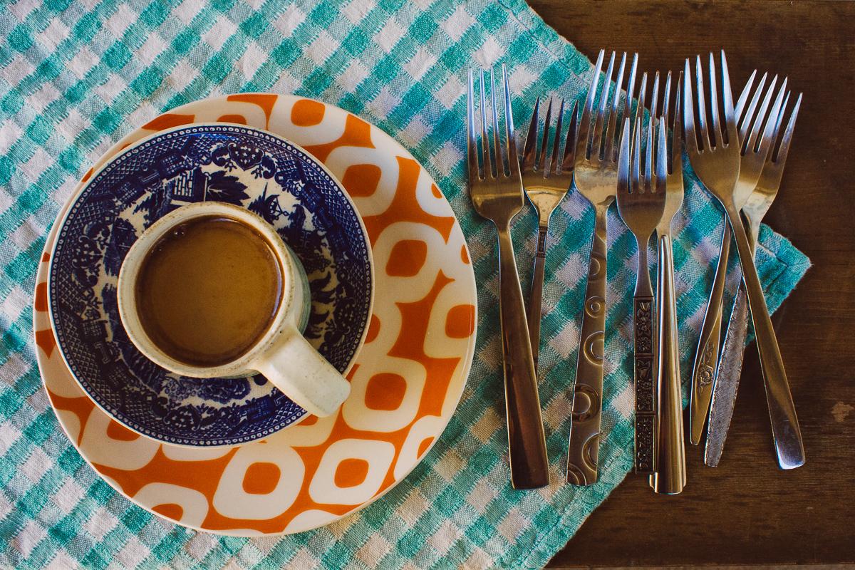 Mismatched forks