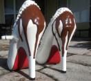 Os sapatos com cobertura de chocolate são os mais pedidos