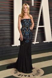 Heidi Klum, que deveria ter escolhido esse para o evento principal, de Versace