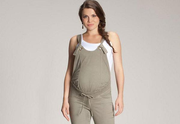 jardineira gravida