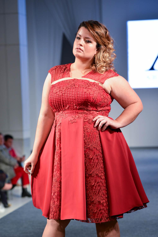 vestido de festa plus size 12