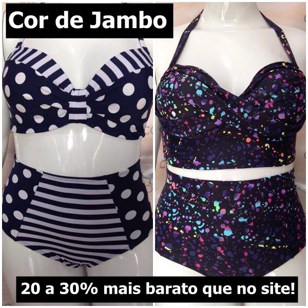 Cor de Jambo bazar plus size do blog mulherão