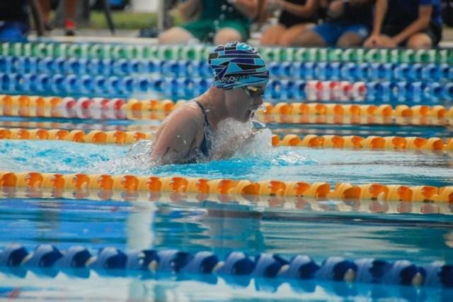 Swimming final say