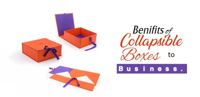 Benefits of Collapsible Boxes to Business