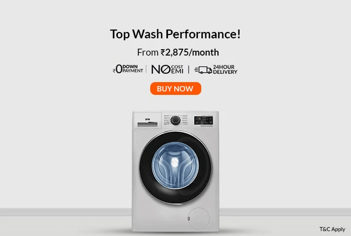 Washing machine on EMI
