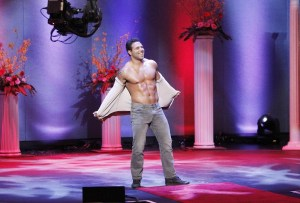 Mikey is my favorite.  Wow.  He is so hot  on the Bachelorette.  He should have won Mr. America