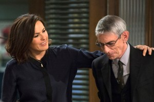 Munch and Liv on SVU