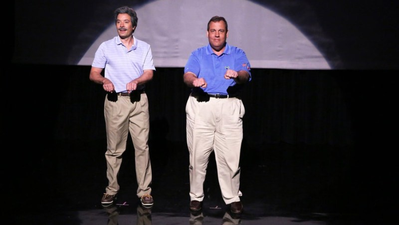 Chris Christie with Jimmy Fallon Dancing