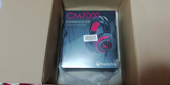 VANKYO GAMING HEADSET COMMANDER CM7000をゲット!