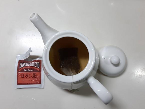 早速ほうじ茶を入れましょう