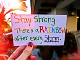 stay strong rainbow
