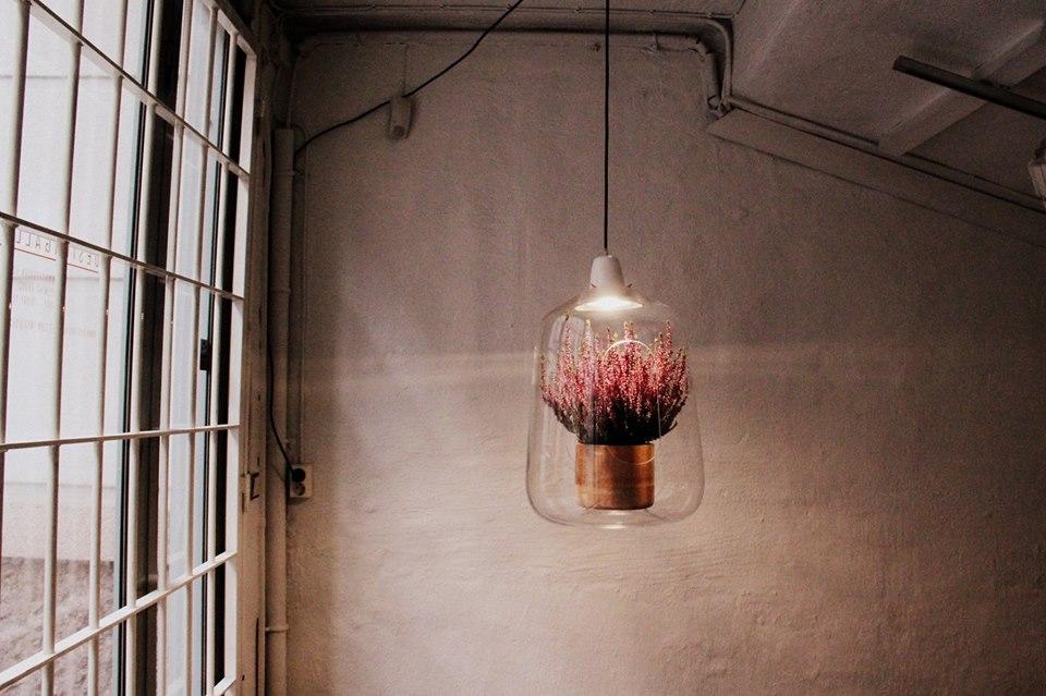 Une lampe porte plante LED La suspension Milo de chez Lightovo va vous sduire