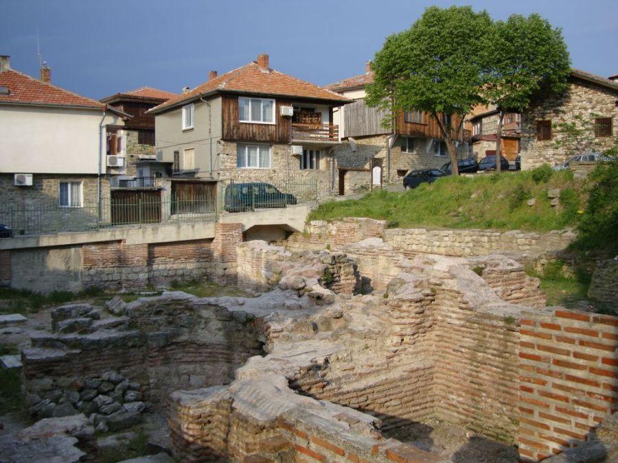 Несебр. Ранневизантийские термы.