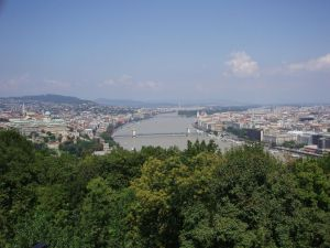 Буда и Пешт через Дунай