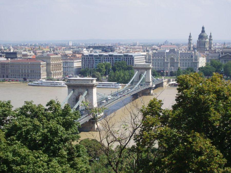 Цепной мост Будапешта.