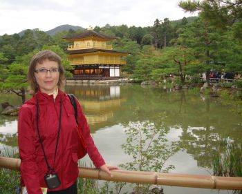 Я у Золотого павильона Кинкакудзи