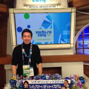 Юки Токунага-сан на Олимпиаде в Сочи