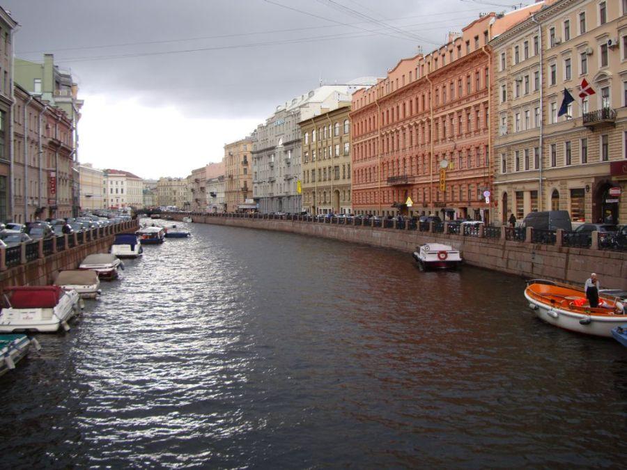 Санкт-Петербург. Реки и каналы.