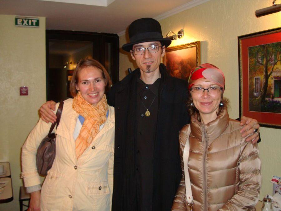 Встреча с Кирой и Сашей в Санкт-Петербурге