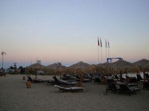 Святой Влас. Пляж на закате.