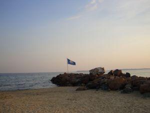 Святой Влас. Голубой флаг.