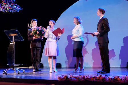 Театр кукол. Поздравления от городской Думы.