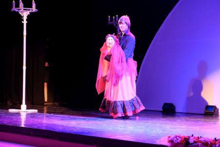 Театр кукол. Номер Андрея Князькова.