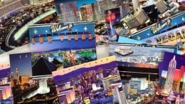 blognemo.ru открытки postcard Las Vegas лас вегас
