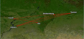 Utair: полеты между Тюменью, Казанью, Самарой, Уфой и Екатеринбургом всего от 790 руб. в одну сторону (октябрь)! И никакой Москвы!