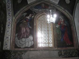 درب ورودی صحن اصلی کلیسای وانک
