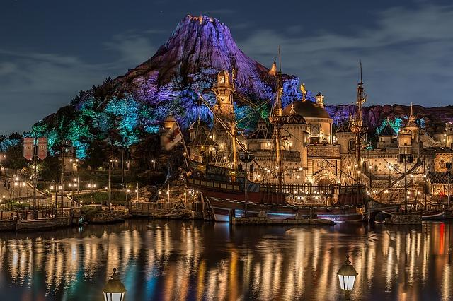 Disney by night