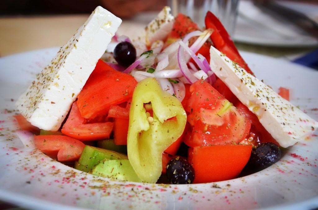 a tasty healthy salad