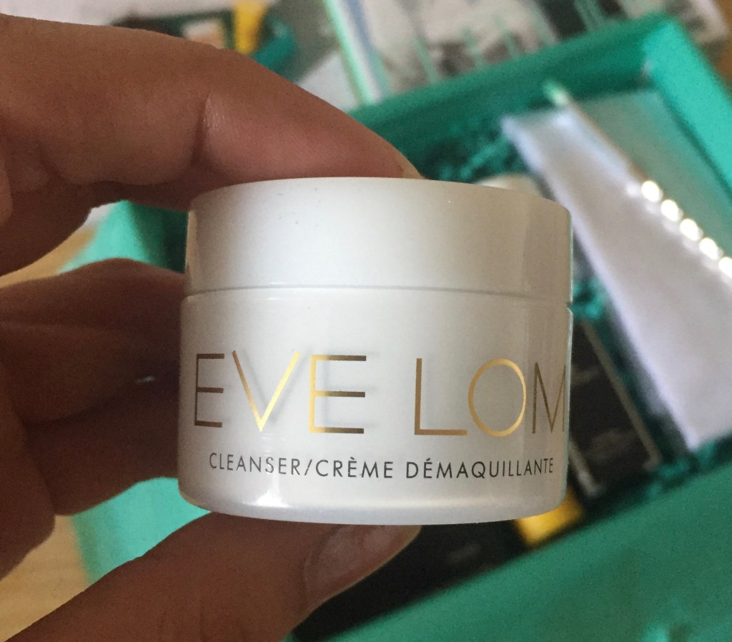 Eve Lom cleansing balm from the Beauty Edit box