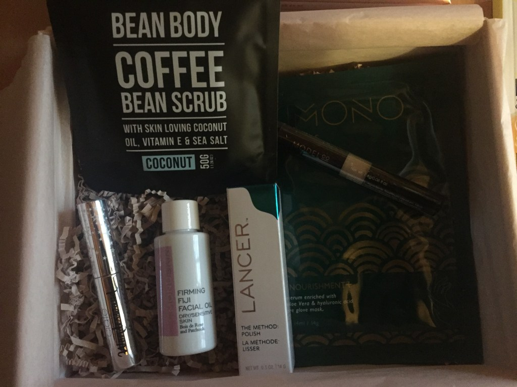 Indulge Me October Box contents