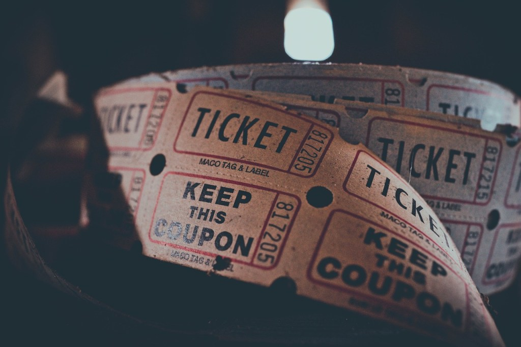 TICKET COUPON