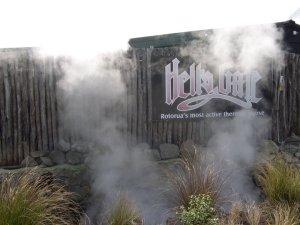 Hells Gate Rotorua entrance