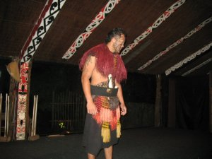 traditional Maori dance at Tamaki