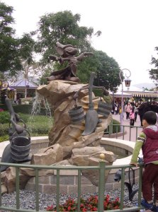 attractions Disneyland HK