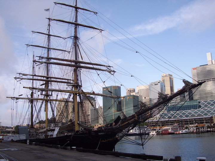 Tall ship at Darling Harbor, Sydney