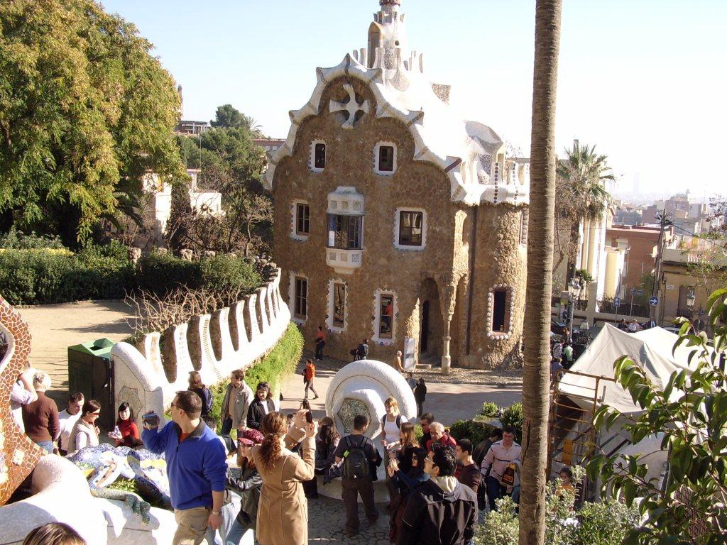 Gaudi house Barcelona