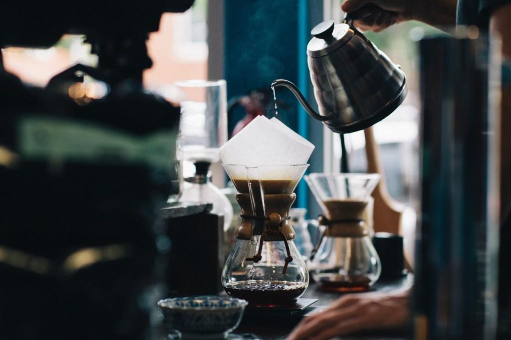 preparing good coffee