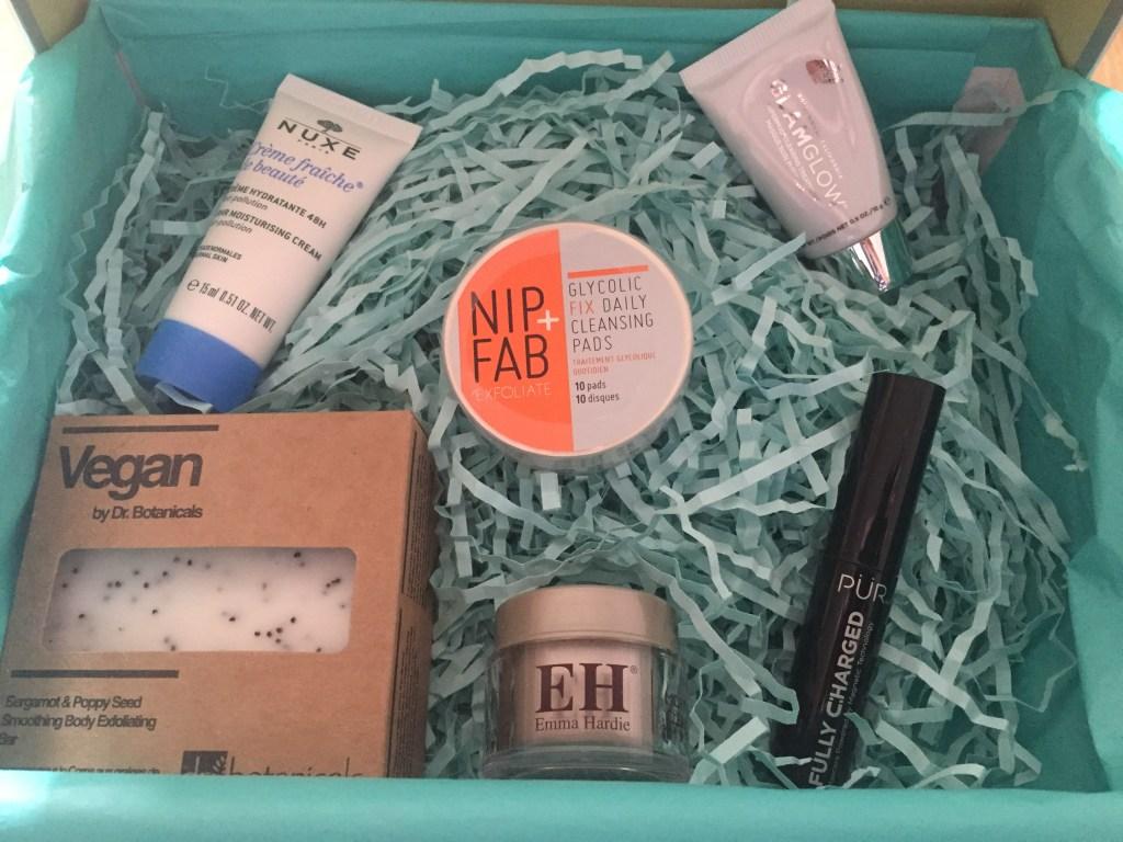 Look Fantastic April beauty awakening box contents