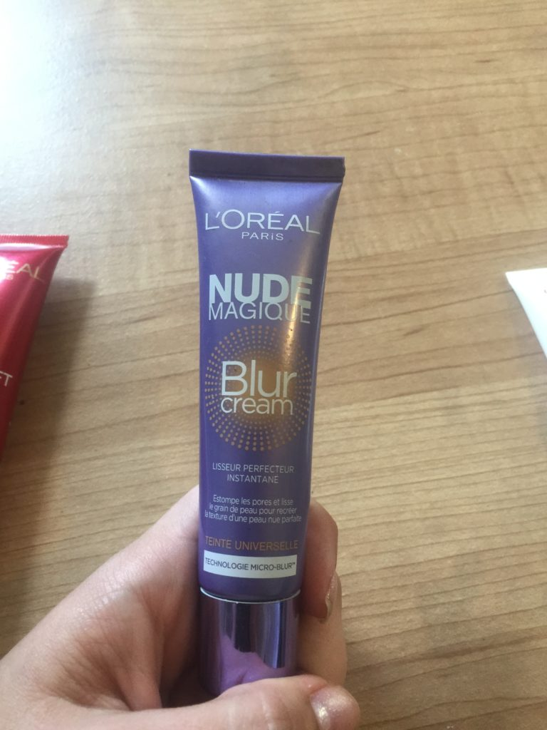 Loreal nude magic blur cream primer