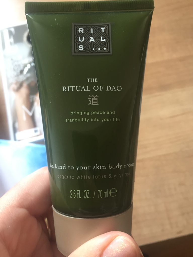 Ritual of Dao body cream